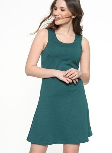 Askılı Kısa Elbise-Only